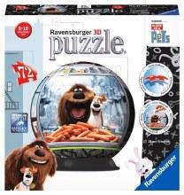 Casse-tête 3D, 216 mcx - Pets