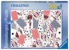 Casse-tête Défi, 500 mcx - Jeu de cartes