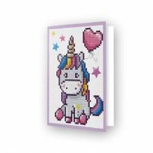 Carte Diamond Dotz - Licorne