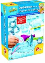 Expériences avec de l'eau et de la glace