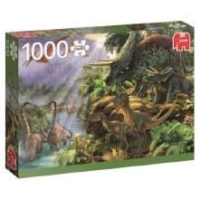 Casse-tête, 1000 mcx - La Vallée des dinosaures