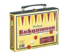 Backgammon deluxe de voyage