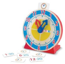 Horloge «Tourne et dis l'heure»