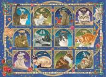 Casse-tête 1000 mcx - Cat Horoscope