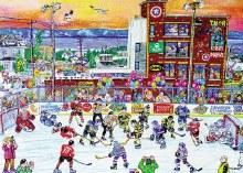 Casse-tête 1000 mcx - Hockey à RDL