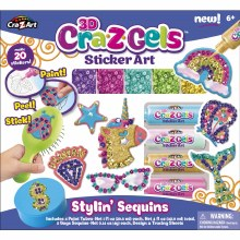 3D Cra-z-gels - Sticker Art