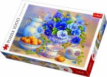Casse-tête 1000 mcx - Bouquet bleu