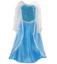 Robe de la reine des glaces (5-6ans)