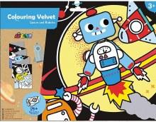 Colouring Velvet - Robot et espace