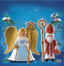 Saint-Nicholas et ange