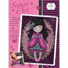 Sequin Art - Santoro London Gorjuss