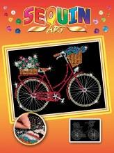 Sequin Art - Bicyclette