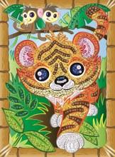 Sequin Art - Smoogles Tigres