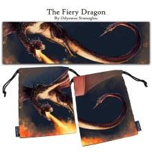 Dice Bag - Fiery Dragon