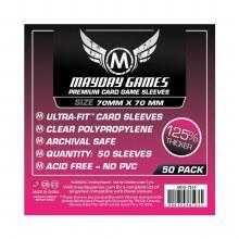 50 Protecteurs de cartes - 70mm x 70mm
