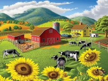 Casse-tête, 550 mcx - Walt Curlee - Vaches