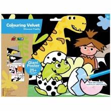 Colouring Velvet - Dino