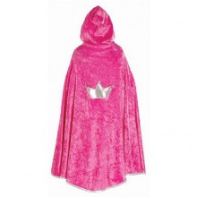 Cape rose foncé de princesse - medium