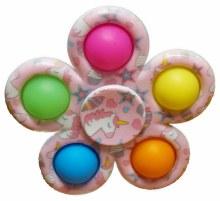 Push 'n' Pop Spinner 5 pops