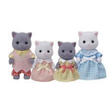 Calico Critters - Famille Chat Persan