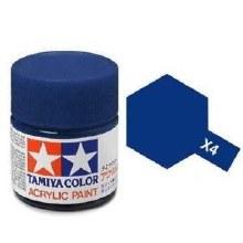 Peinture Tamiya - X-4 Bleu