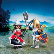 Duo Chevalier du Lion avec Chevalier de l'Aigle