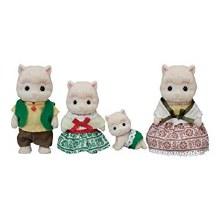 Calico Critters - Famille Alpaca Laineaux