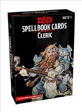 D&D - Spellbook Cards Cleric