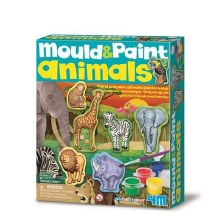 Mould and Paint Animals