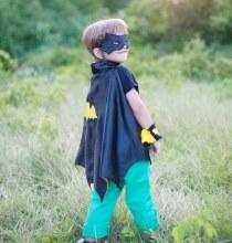 Bat cape avec masque - petit