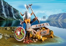 Viking avec trésor