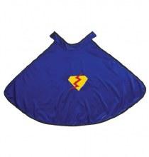 Cape de super-héros bleue - petit/medium