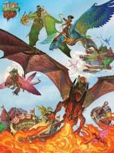 Casse-tête, 400 mcx - Dragons volants