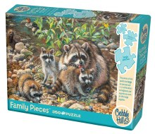 Casse-tête, 350 mcx - Raccoon Family