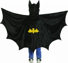 Bat Cape avec capuchon - medium