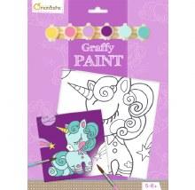 Graffy Paint - Licorne