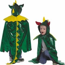 Cape de dragon vert - medium