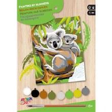Peinture à numéros jr. - Koalas