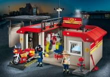 Caserne de pompiers transportable