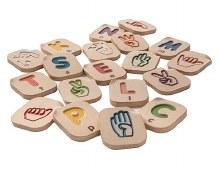 Alphabet A-Z en langue des signes