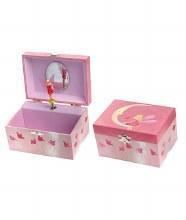 Boîte de bijoux - musicale lune