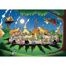 Casse-tête, 1500 mcx - Asterix - Le Banquet