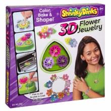 Shrinky Dinks - Bijoux floraux