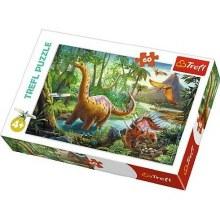 Casse-tête 60 mcx - Migrations Dinosaures