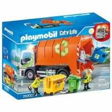 Camion de recyclage des ordures