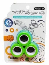 Anneaux magnétiques verts