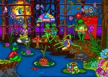 Casse-tête 1000 mcx - Les grenouilles s'amusent