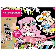 Colouring Velvet - Princesses