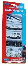 Ensemble de 5 véhicules de Police