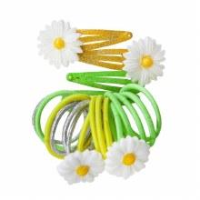 Barrette & Élastique - Fleurs